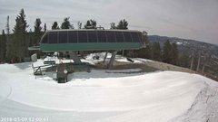 view from Angel Fire Resort - Chile Express on 2018-03-09