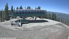 view from Angel Fire Resort - Chile Express on 2018-05-14
