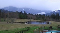 view from Olympic View Cabins Hurricane Ridge Cam on 2018-03-08