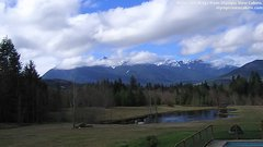 view from Olympic View Cabins Hurricane Ridge Cam on 2018-03-15
