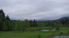 view from Olympic View Cabins Hurricane Ridge Cam on 2018-05-09