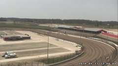 view from Eldora Speedway on 2018-04-13
