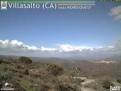 view from Villasalto on 2018-02-13