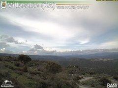 view from Villasalto on 2018-02-23