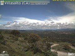 view from Villasalto on 2018-05-15