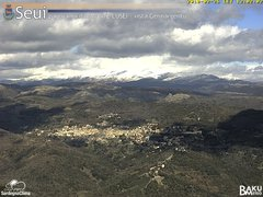 view from Monte Lusei Seui on 2018-02-26