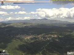 view from Monte Lusei Seui on 2018-05-12