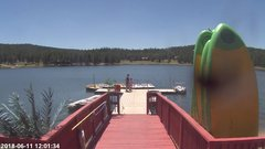 view from Angel Fire Resort - Monte Verde Lake on 2018-06-11
