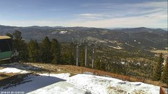 view from Angel Fire West View on 2018-01-29