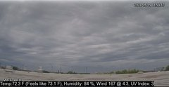 view from University Place Apartments - West Weather on 2018-05-19