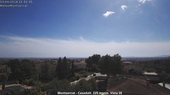 view from Montserrat - Casadalt (Valencia - Spain) on 2018-04-13
