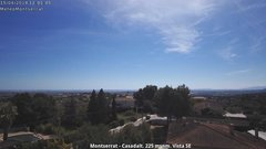 view from Montserrat - Casadalt (Valencia - Spain) on 2018-04-15