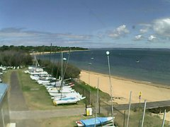 view from Cowes Yacht Club - West on 2018-02-12