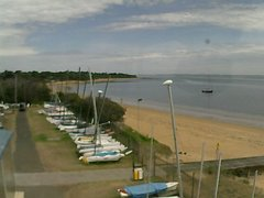 view from Cowes Yacht Club - West on 2018-02-22