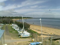 view from Cowes Yacht Club - West on 2018-04-09