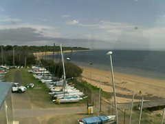 view from Cowes Yacht Club - West on 2018-04-11