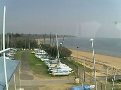 view from Cowes Yacht Club - West on 2018-04-21