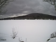 view from Neal Pond on 2018-03-09