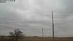 view from Ewing, Nebraska (west view)   on 2018-03-04