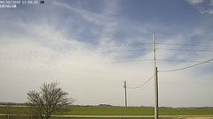 view from Ewing, Nebraska (west view)   on 2018-04-30