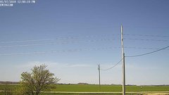 view from Ewing, Nebraska (west view)   on 2018-05-07
