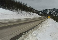 view from 4 - Highway 50 Road Conditions on 2018-03-10