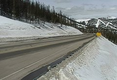 view from 4 - Highway 50 Road Conditions on 2018-03-14
