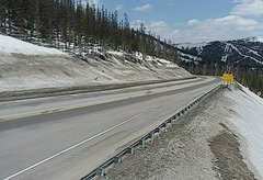 view from 4 - Highway 50 Road Conditions on 2018-04-30