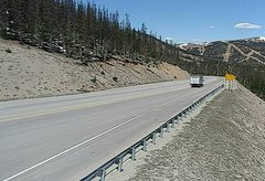 view from 4 - Highway 50 Road Conditions on 2018-05-24