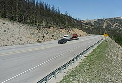 view from 4 - Highway 50 Road Conditions on 2018-06-11