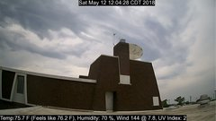 view from University Place Apartments - South Weather on 2018-05-12