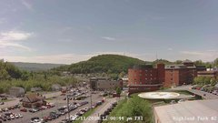 view from Highland Park Hose Co. #2 on 2018-05-11