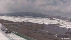 view from Mifflin County Airport (west) on 2018-02-08