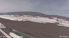 view from Mifflin County Airport (west) on 2018-02-13