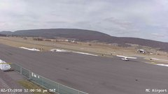 view from Mifflin County Airport (west) on 2018-02-17