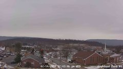 view from Highland Park Hose Co. #1 on 2018-02-14