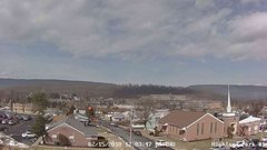 view from Highland Park Hose Co. #1 on 2018-02-15