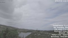 view from 1 Sotra island, W-Norway on 2018-07-06