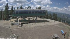 view from Angel Fire Resort - Chile Express on 2018-07-09
