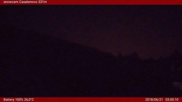 time-lapse frame, Snowcam Casatenovo webcam