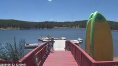 view from Angel Fire Resort - Monte Verde Lake on 2018-06-22