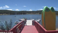 view from Angel Fire Resort - Monte Verde Lake on 2018-06-23