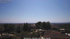view from Montserrat - Casadalt (Valencia - Spain) on 2018-06-22