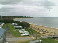 view from Cowes Yacht Club - West on 2018-06-24