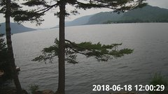 view from Bluffhead Hullets Landing, NY on 2018-06-18