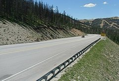 view from 4 - Highway 50 Road Conditions on 2018-06-25