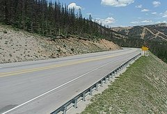 view from 4 - Highway 50 Road Conditions on 2018-07-03