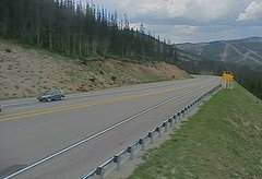 view from 4 - Highway 50 Road Conditions on 2018-07-05