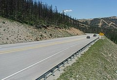 view from 4 - Highway 50 Road Conditions on 2018-07-09
