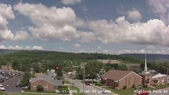 view from Highland Park Hose Co. #1 on 2018-06-21